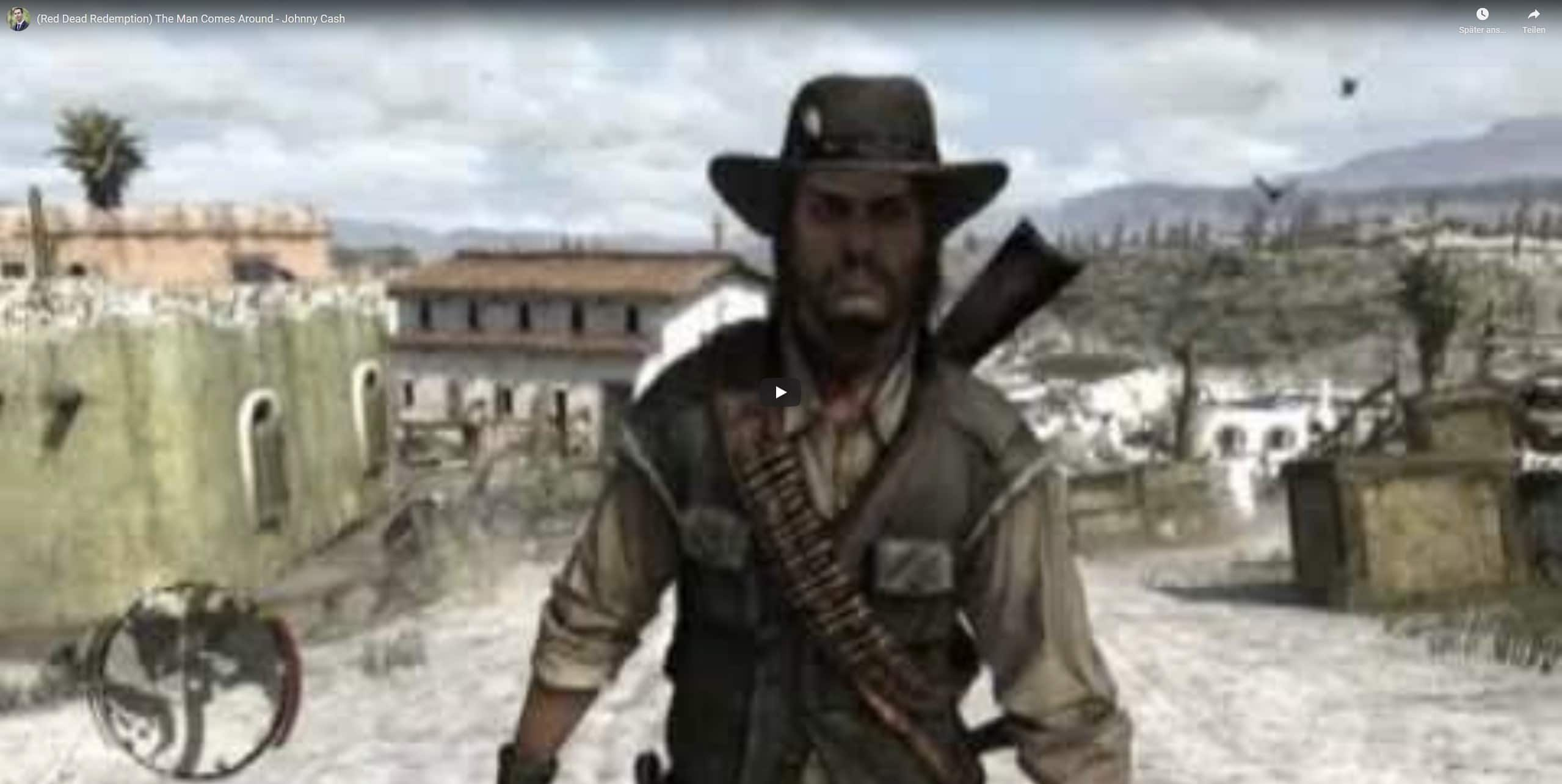 (Red Dead Redemption) The Man Comes Around – Johnny Cash