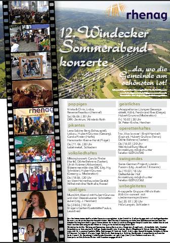 Sommerabend-Konzerte