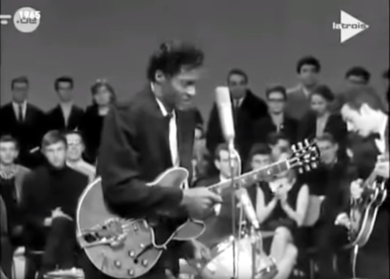 "Chuck Berry – ""Promised Land/Johnny B. Good…"