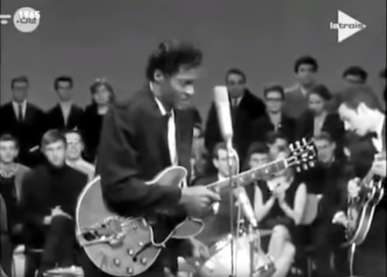 "Chuck Berry – ""Promised Land/Johnny B. Good…"