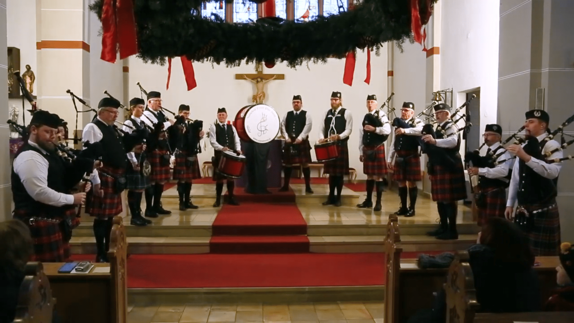 Nutscheid Forest Pipeband