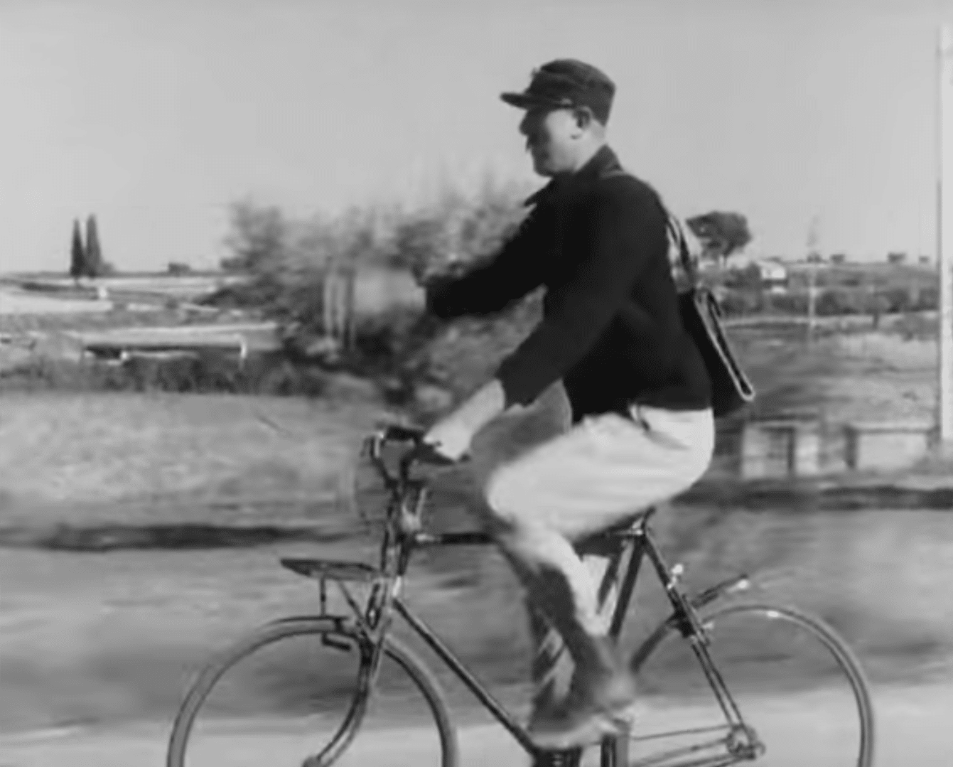 Jour de fête de Jacques Tati : Extrait 1