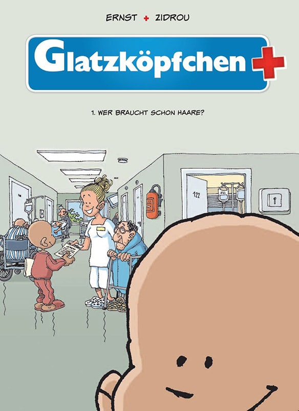 Glatzköpfchen Bd. 1: Wer braucht schon Haare?