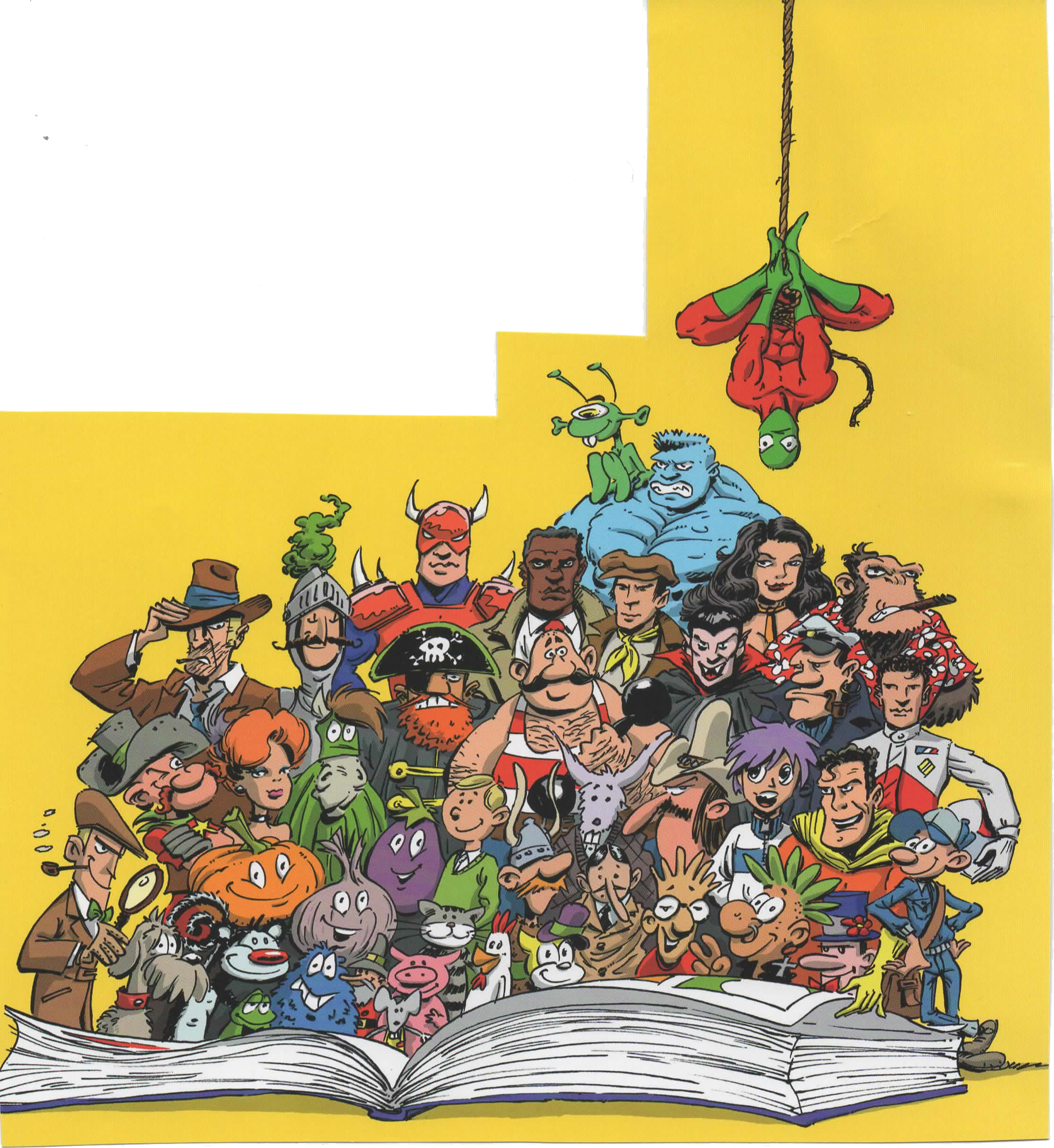 Comic – Gruppenfoto